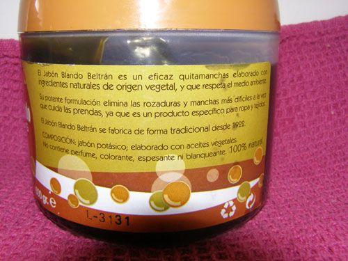 Venta de jabón potásico muy barato de la casa Beltrán