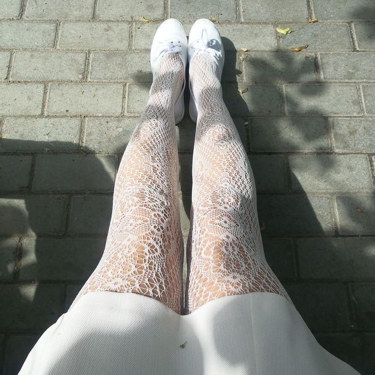 #legwear #collants #tights #fishnet #white #joli #whitetrainers #whitedress #openwork #instagram #mslingva #100packsoftights #blogspot #fblog #follow #buy #russiantights #russianpantyhose #pattern #ажур #колготки #блог #мода #стиль #женственность