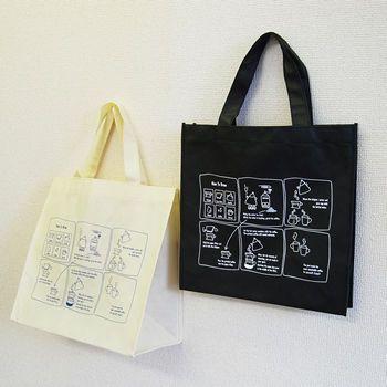 コーヒー豆ブランドが制作したイベントバッグ : 貰って嬉しいノベルティはコレ!役立つ制作事例まとめ - NAVER まとめ