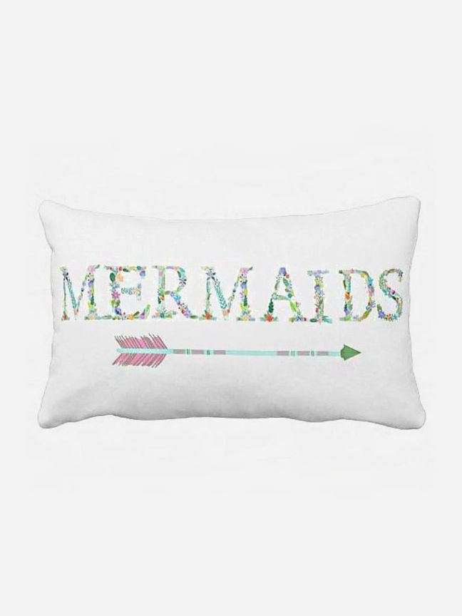 Pillow Cover Beach Decor Mermaids