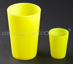 Bicchieri fluo per barman & bartender