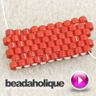 How to Make Increases and Decreases in Brick Stitch ~ Seed Bead Tutorials