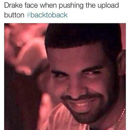 Drake's Back To Back Meek Mill Diss Memes (Audio)