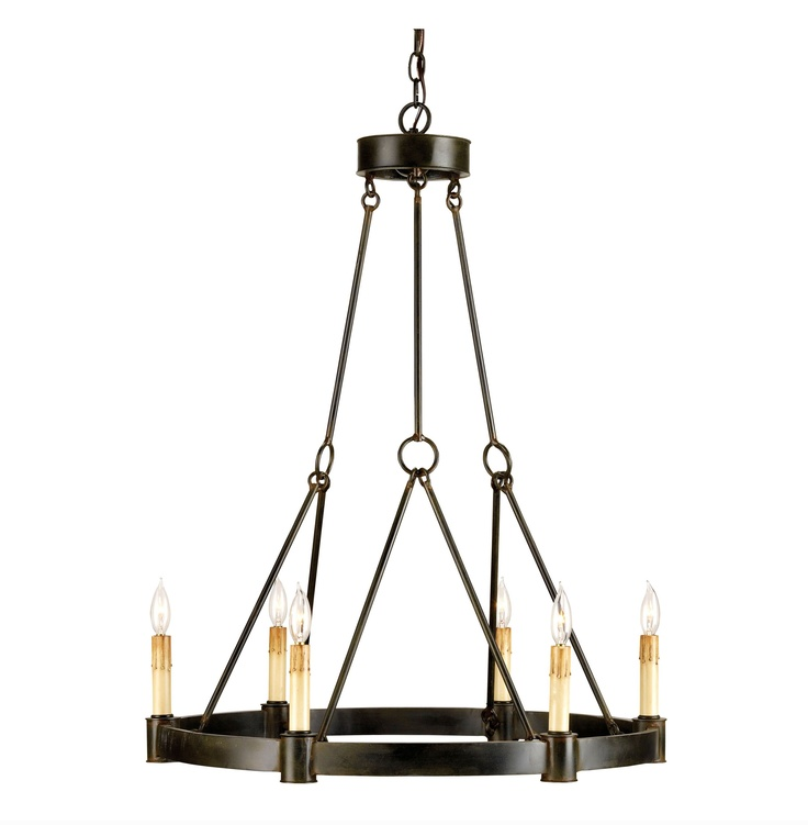 The 25 best french country chandelier ideas on pinterest french charmont french country black wrought iron 6 light chandelier aloadofball Images