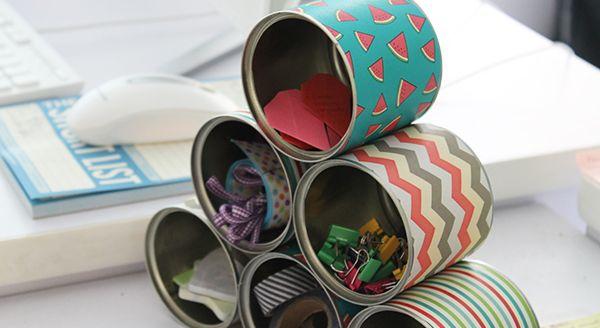 Manualidades organizaci n y reciclaje 3 ideas incre bles - Manualidades para adultos ...