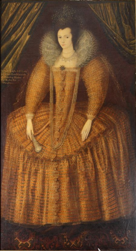 Portrait of Margaret Gerard, Lady Legh, attributed to Marcus Gheeraerts the Younger. Accepted in lieu of inheritance tax by HM Government and allocated to the National Trust for display at Lyme Park, 2011. ©National Trust Collections