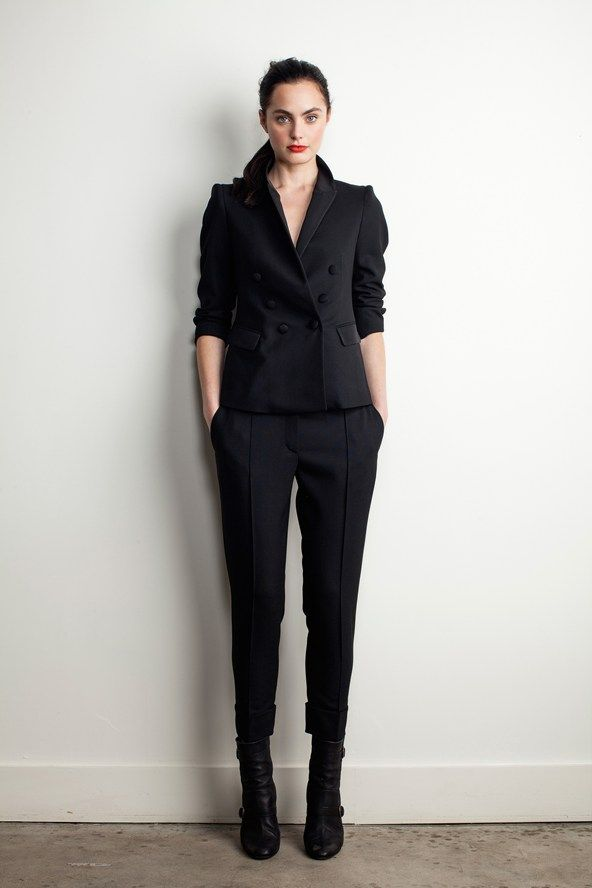 Sleek suit by Band Of Outsiders (Pre-Fall 2013)
