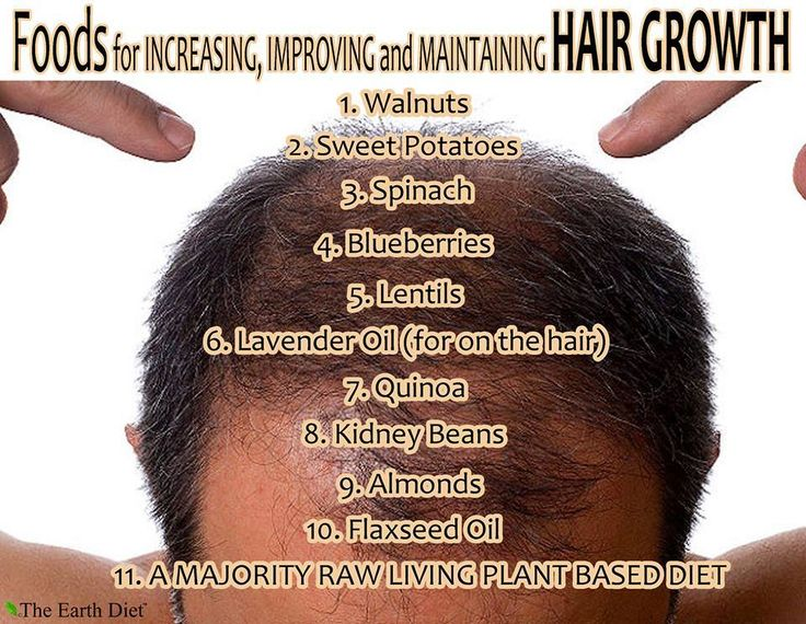 Natural Food For Thinning Hair