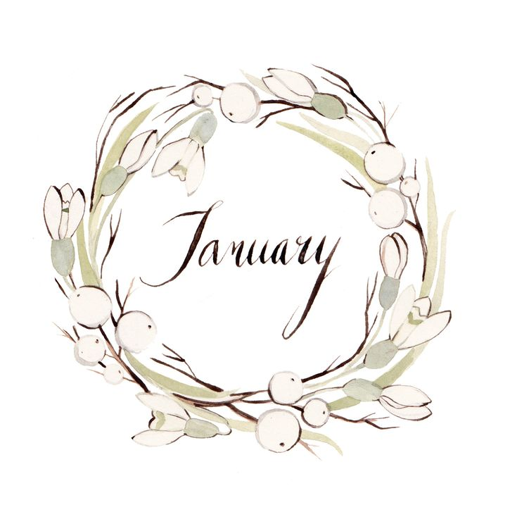 Kelsey Garrity-Riley Illustration: January is here.