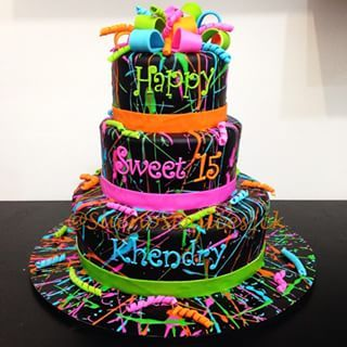 neon paint birthday party - Google Search