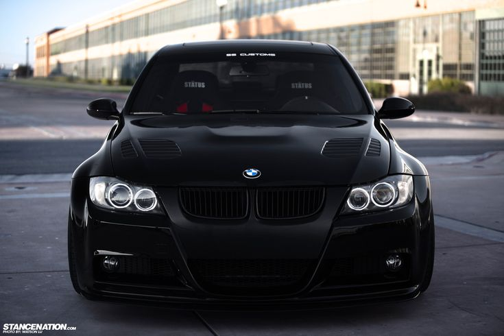 BMW E90 mean front end #black