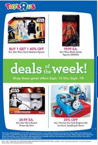Toys R Us Ad September 13 - 19, 2015 - http://www.kaitalog.com/toys-r-us-ad.html