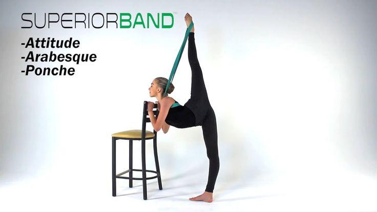 Superior Band Attitude, Arabesque, Ponche Stretch