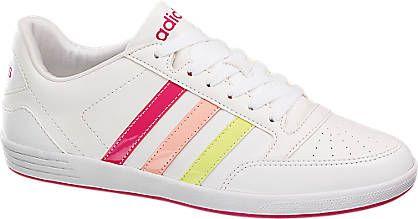 Sneaker VL HOOPS LO W von adidas neo label in weiß - deichmann.com