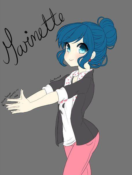 cute Marinette! (Miraculous Ladybug)