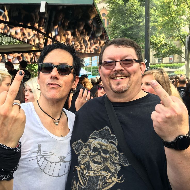 Andy Brings (lead vocals & guitar) from Double Crush Syndrome @Nord Open Air Essen 2016
