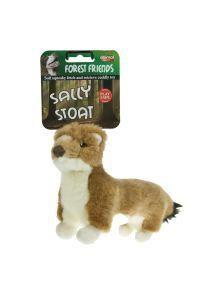 Animal Instincts Sally Stoat Plush Dog Toy Large