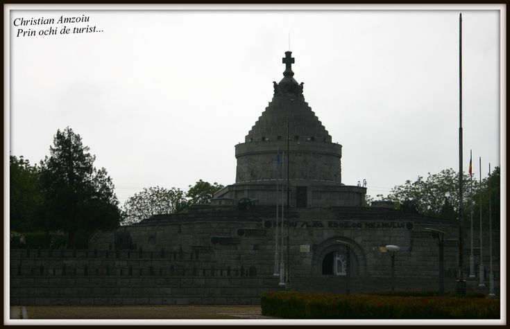 Mausoleum at Marasesti in honor of the heroes fallen in the first war world...  https://prinochideturist.wordpress.com/2014/05/12/mausoleul-de-la-marasesti-the-mausoleum-from-marasesti/