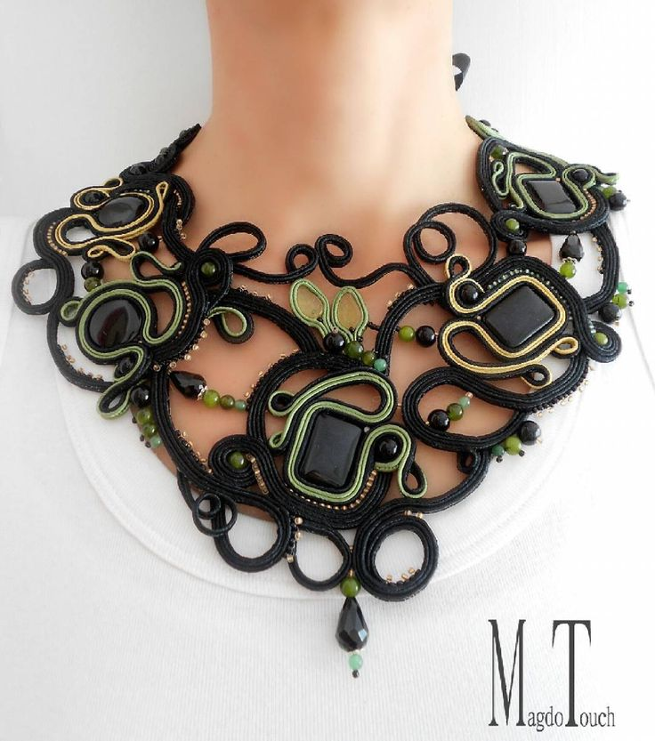 #soutache #jewelry #black #green #gift #prettylittlething #feminen #womensfashion #handmade #handmadejewelry #elegant #unique #madebyme #fashion #beads #handcrafted #pearls #crystals #etsyshop #custom #glassbeads #gems #love #girl #shades #etsy #elegant #perfect #artistic #olive #trees