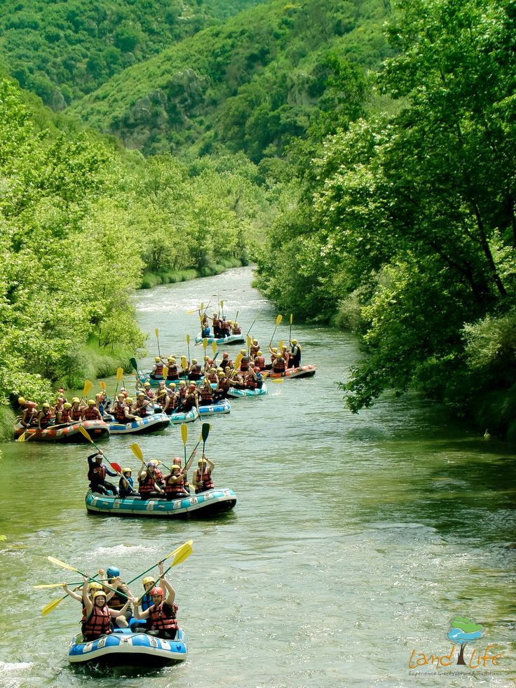 Alfios and Lousios rivers are waiting to offer you magnificent memories doing rafting