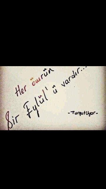 Her ömrünbir Eylül'ü vardır... Turgut Uyar