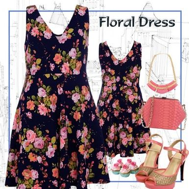 Click here to purchase.  Rose Print Cross-Over Floral Dress - Plus Size 14, 16 and 18 - City Style Chic: http://www.citystylechic.com.au/new-arrivalsrose-print-front-cross-over-floral-dress $37.50 AUD (free standard shipping within Australia).