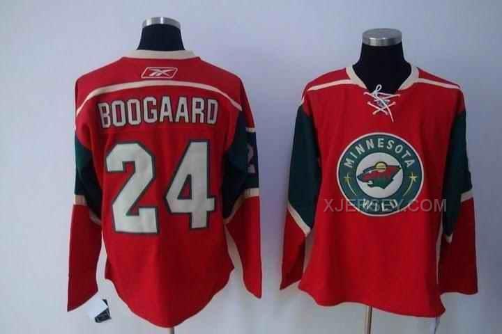 http://www.xjersey.com/wilds-24-boogaard-red-jersey.html WILDS 24 BOOGAARD RED JERSEY Only $46.00 , Free Shipping!