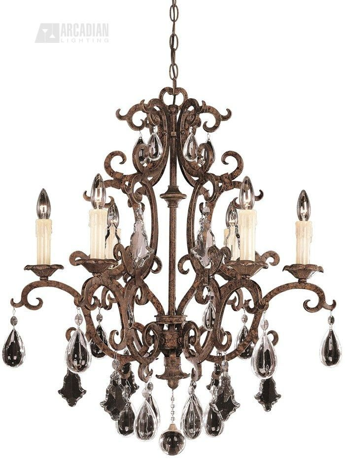 South Shore Decorating: Savoy House Lighting 1-1402-6-56 Provenciale Traditional Chandelier SVH-1-1402-6-56