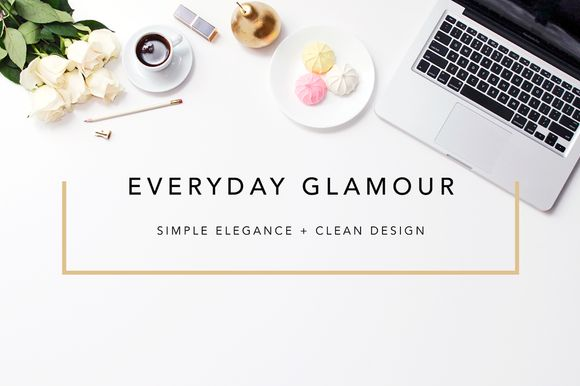 Check out Elegant Hero/ Blogger Header Images by Design Love Shop on Creative Market