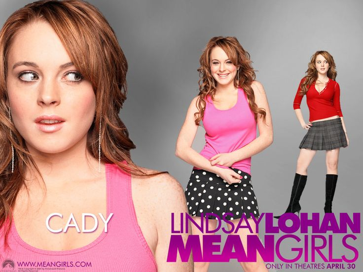 """Lindsay Lohan as """"Cady Heron"""" in Mean Girls 2004"""