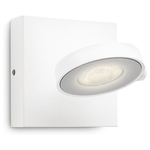 Schlichter LED Spot Clockwork in weiß, dimmbar