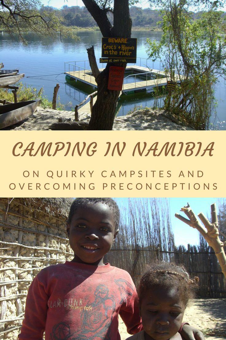 Namibia travel   Africa camping   Namibia camping   African village   Namibia Ngepi