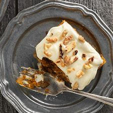 Moist pumpkin bars topped with cream cheese icing — and gluten-free, to boot.