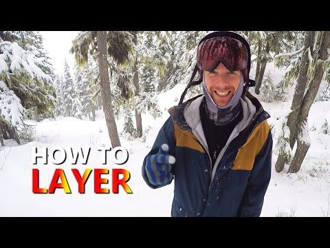 In this video I take a break from snowboarding to talk about the layers I wear on the mountain to stay warm. The weather report today said it was a high of –  ...Read More