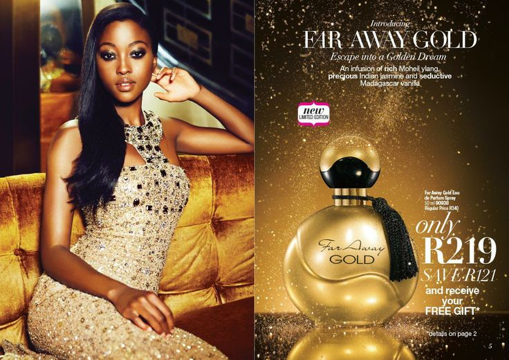 Buy Far Away Gold for only R 219 and claim your free gift. Place orders via email melisa.davids@gmail.com Cape Town Southern Suburbs only