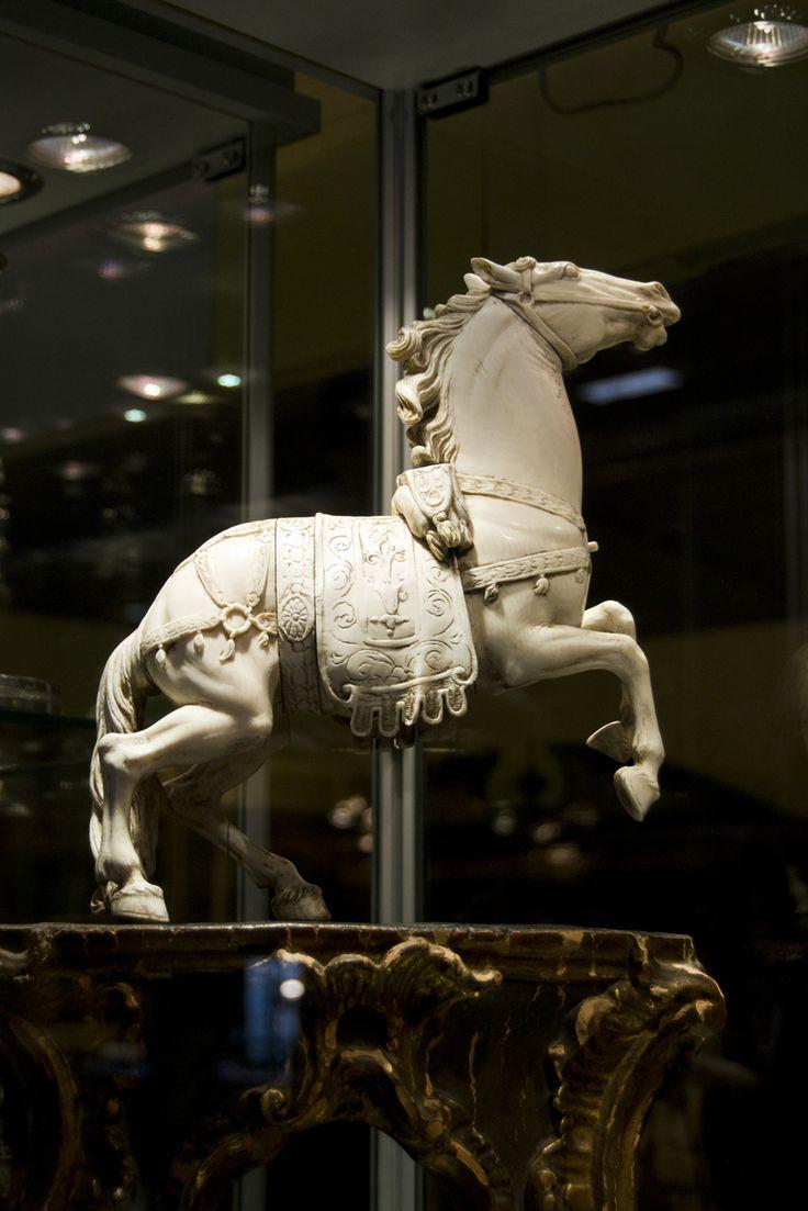 Amazing ivory horse