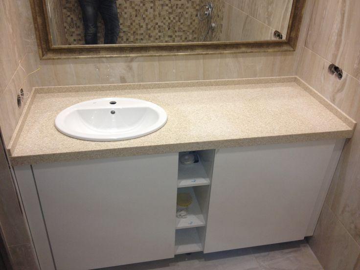 столешница в ванной комнате