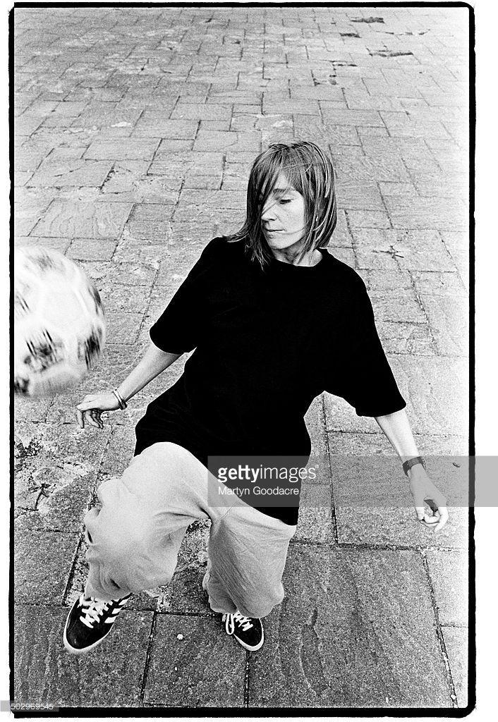 Portrait of Beth Gibbons of Portishead, United Kingdom, 1995.