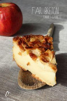Far Breton Pommes Cannelle; une recette d'épices malices