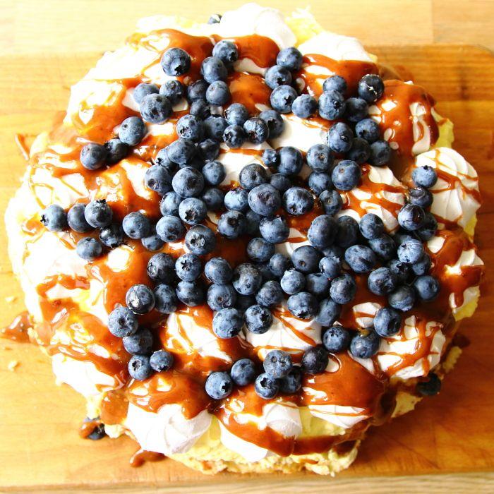 piece of food, ciasto z kremem, bezami, krowki