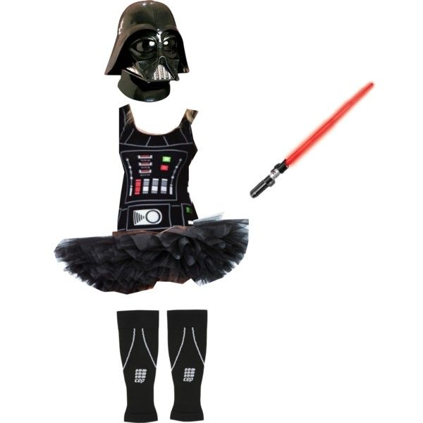 """Vader Running Costume"" Would only be able to wear the mask for photos"