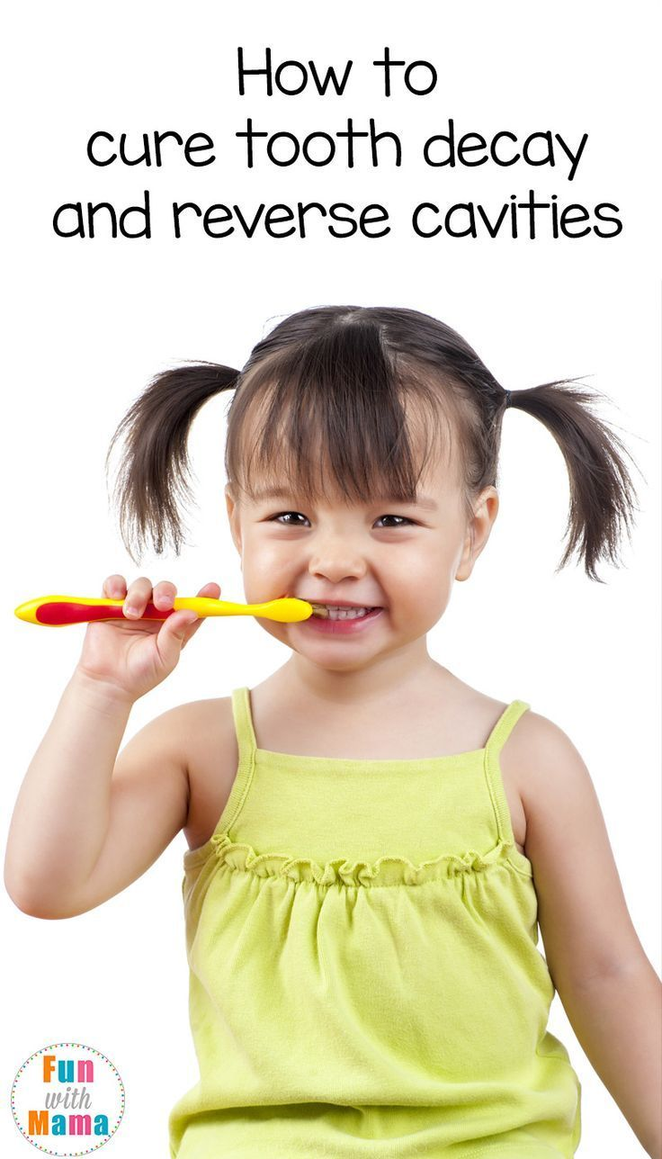 How to Remineralize and Strengthen Kids Teeth Cure tooth