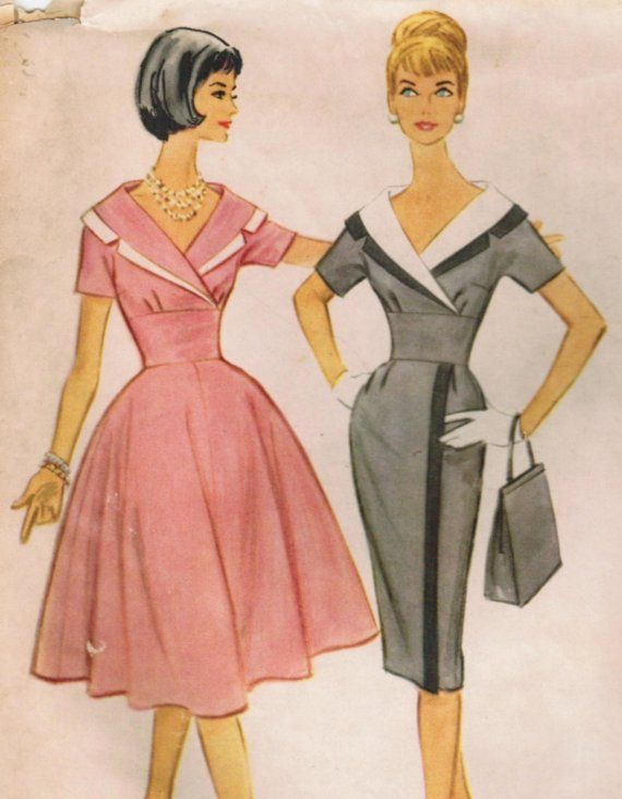 2021 best 60\'s Dress Patterns images on Pinterest | Vintage fashion ...