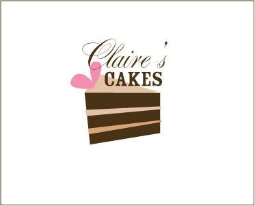 Claire's Cakes Logo by sosavvydesign, via Flickr