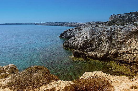 Wild Coast Cyprus by Natalya Antropova #NatalyaAntropovaFineArtPhotography#ArtDecor#HomeDecor#Cyprus