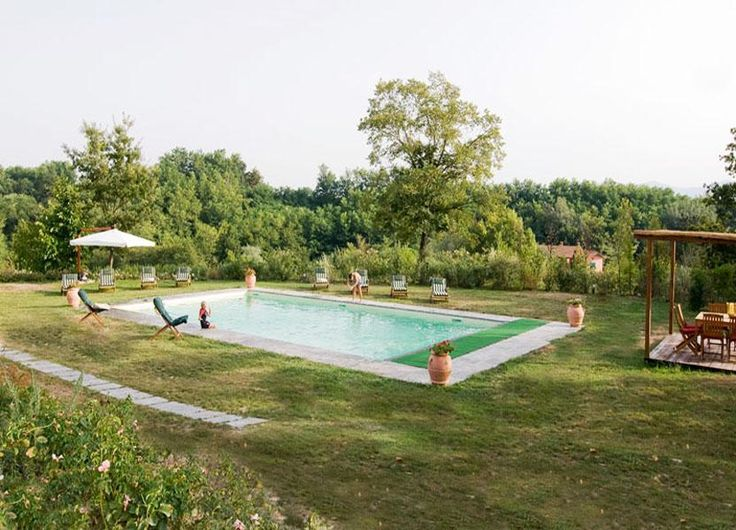 Full view of the swimming pool