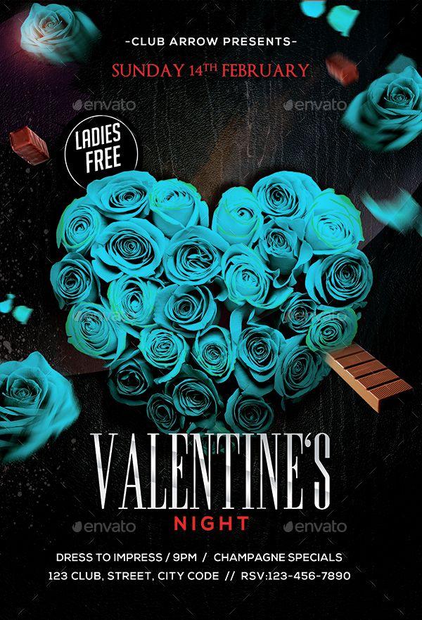 Valentine's Day Flyer Bundle v6