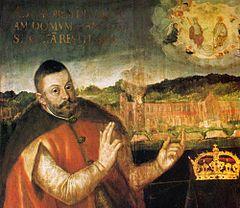 Król Stefan Batory- opactwo w Oliwie