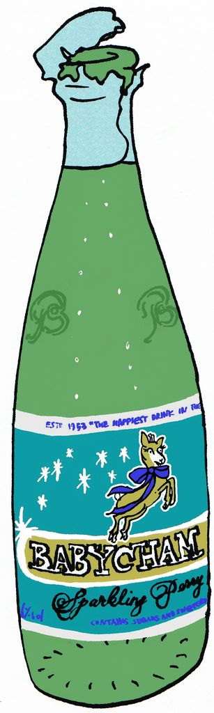 https://flic.kr/p/65veap | celebrate with Babycham | Whew~~finially I have 100 english thing! I'm celebrating in style with the happiest drink in the world.   Babycham is the trade name of a light, sparkling perry invented by Francis Showering, a brewer in Shepton Mallet in Somerset, England; the name is now owned by Constellation Europe Limited. Launched nationally in the United Kingdom in 1953, the drink was marketed with pioneering television advertisements to appeal specifically to…