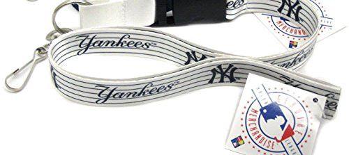 New York Yankees White Lanyard
